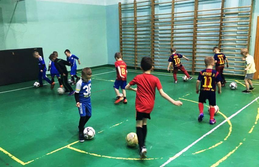 Szkółka Piłkarska - Trening rocznika 2008 - 2009