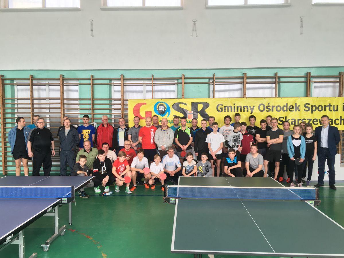 Turniej Tenisa Stołowego marzec 2016