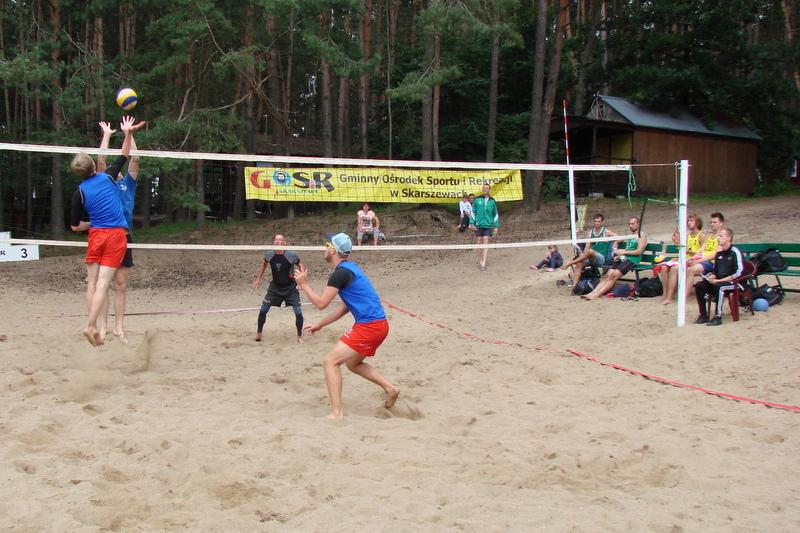 II Turniej Siatkówki Plażowej - Beach Ball Borówno Cup 2016