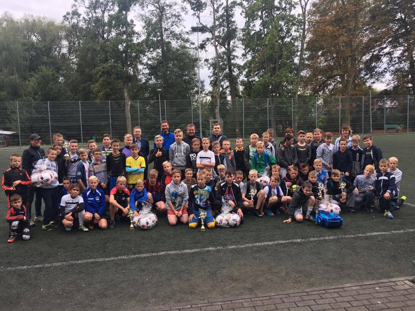 IV turniej piłkarski szkół podstawowych