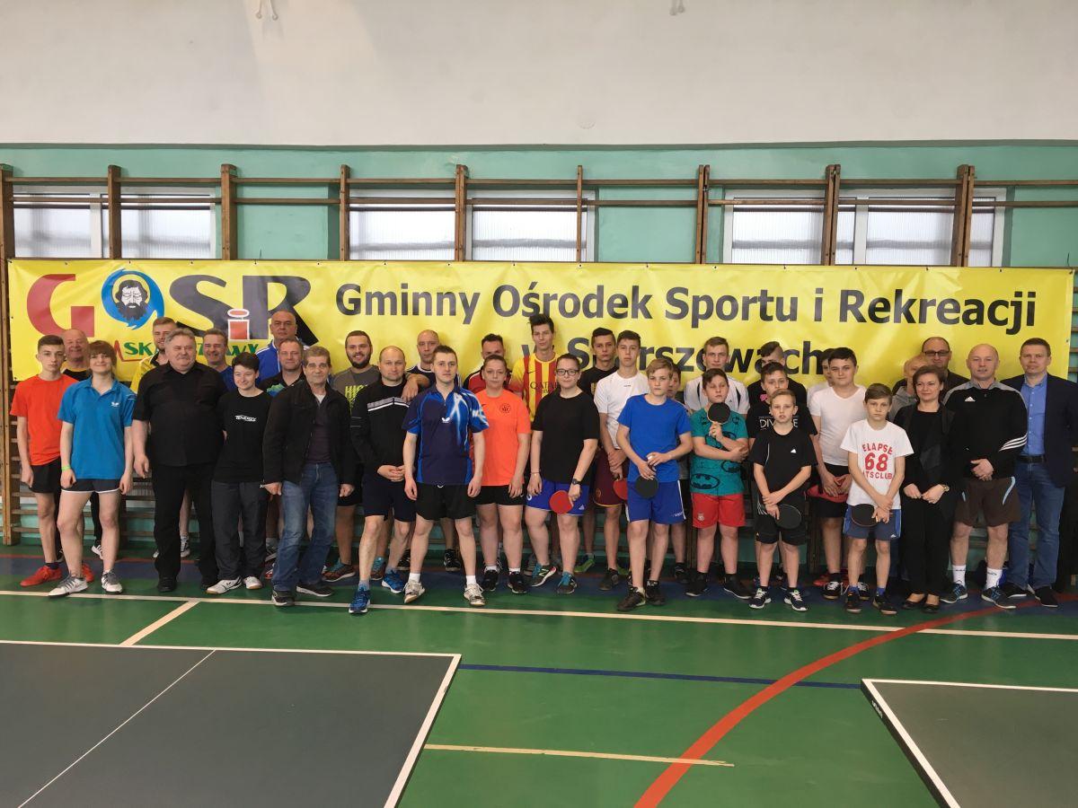 Turniej Tenisa Stołowego o Puchar Burmistrza Skarszew