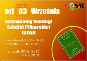 treningi SZkółki 2021